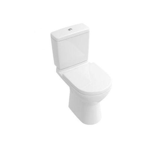 Villeroy & Boch O.Novo Miska ustępowa lejowa do WC-kompaktu 36x67 cm, odpływ poziomy - Weiss Alpin 56611001, 56611001