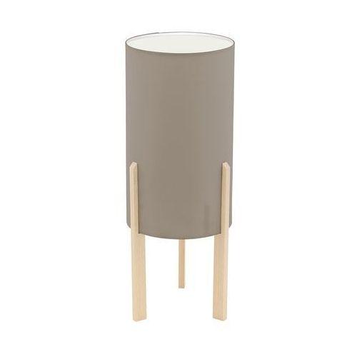 Lampka Eglo Campodino 97893 stołowa nocna 1x60W E27 brązowa/ ciemno szara H-400mm (9002759978938)