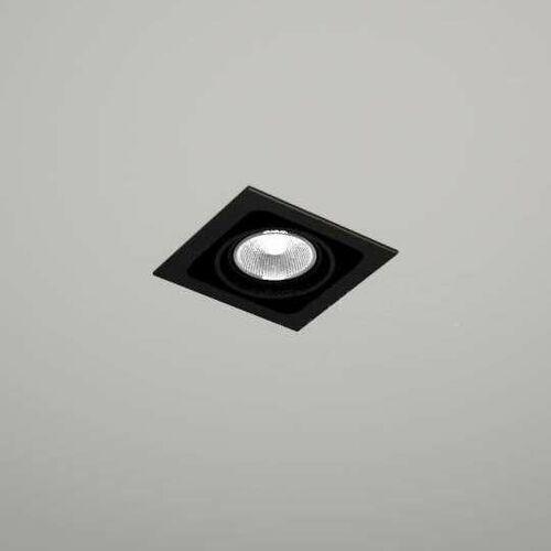Shilo Spot lampa sufitowa ebino 3304 podtynkowa oprawa metalowe oczko kwadratowa wpust czarny