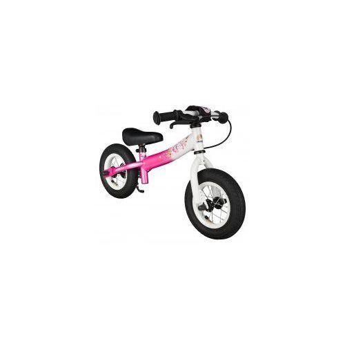 """Rowerek biegowy 10"""" niski od 2 lat germany sport, kolor pink flamingo marki Bikestar"""