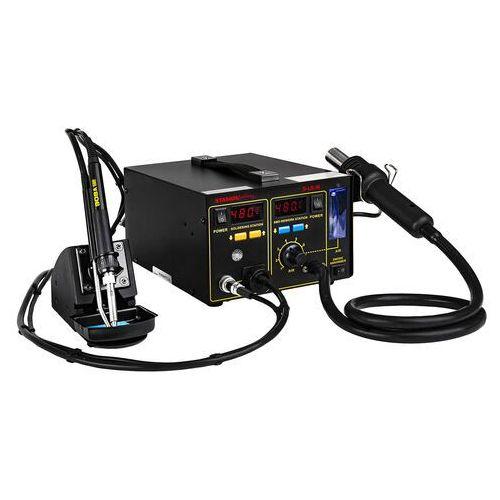Stacja lutownicza - 75 W - odsysacz oparów - 2 x LED - Basic
