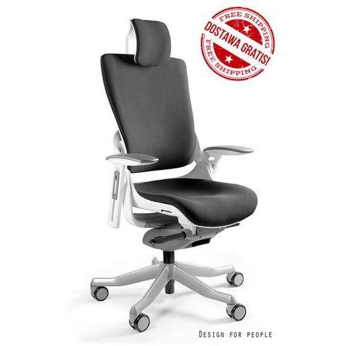 Fotel Wau 2 biało/czarny, Dostępna 1 szt. - Zadzwoń 692 474 000 otrzymasz rabat 170 zł BLACK FRIDAY!, Unique