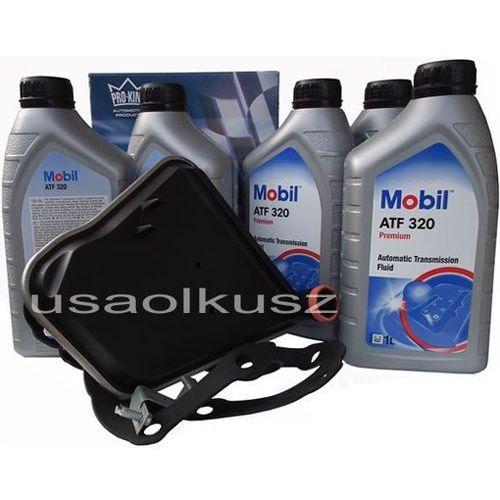 Filtr oraz olej skrzyni biegów atf320 lincoln continental -1995 marki Mobil