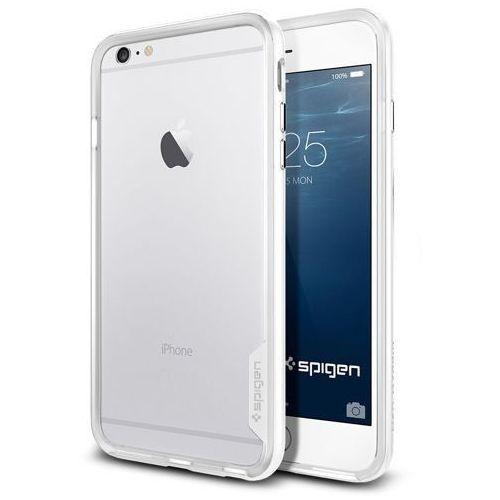 Sgp - spigen Oryginalny bumper etui spigen sgp neo hybrid ex infinity white dla iphone 6 plus