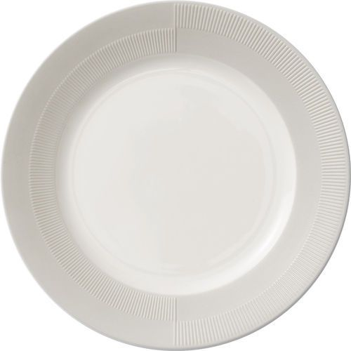 Talerz porcelanowy Duet 27 cm, szary - Rosendahl (5709513212027)