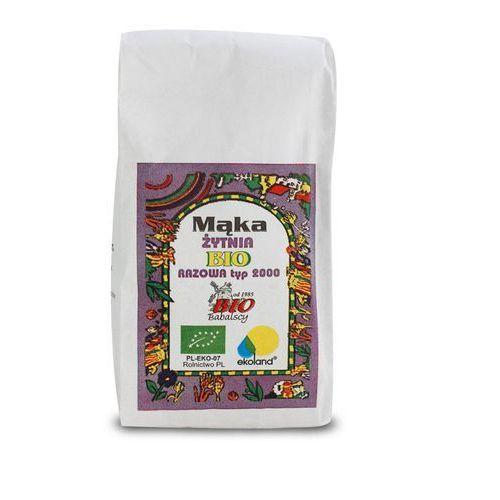 Bio babalscy Mąka razowa żytnia typ 2000 1 kg (5905198000557)