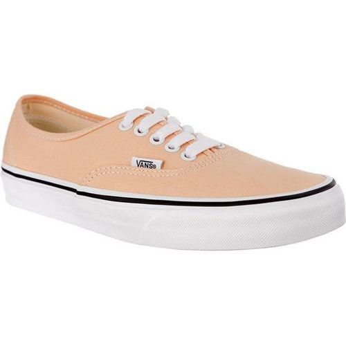 Vans AUTHENTIC U5Y BLEACHED APRICOT TRUE WHITE - Buty Sneakersy (0192360562110)