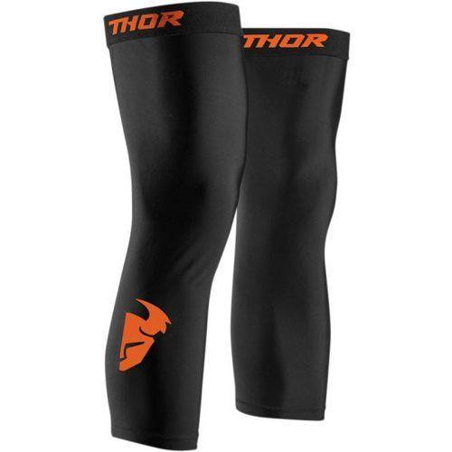 Thor_2018 Thor ochraniacz kolan comp black/red orange =$