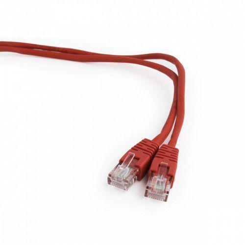 patch cord kat.5e osłonka zalewana 5m czerwony marki Gembird