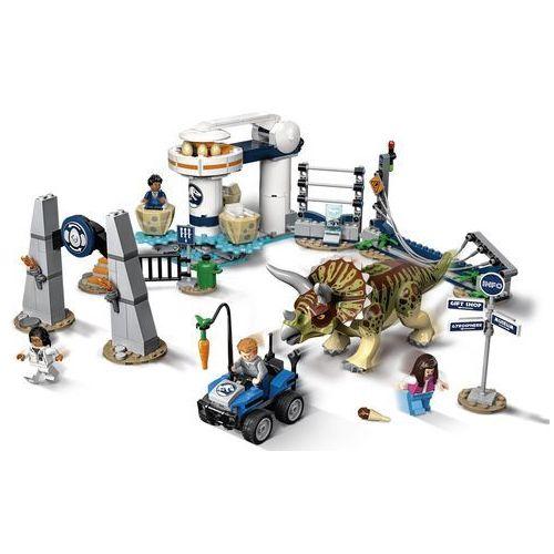 LEGO Jurassic World 75937 Atak triceratopsa