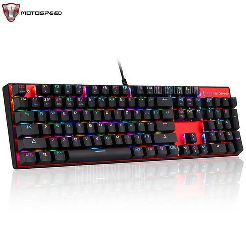 MOTOSPEED Inflictor CK104 Mechanical Gaming Keyboard (keyboard, syntezator)