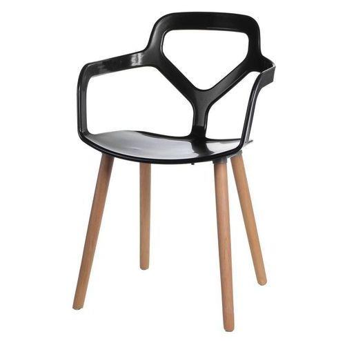 Krzesło Modern Town czarne, kolor czarny