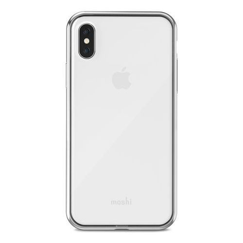 Moshi Vitros - Etui iPhone X (Jet Silver), kolor szary