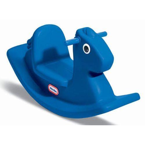 Little Tikes Koń na biegunach, niebieski