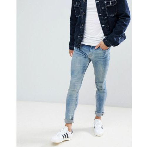 New Look super skinny jeans in blue wash - Blue