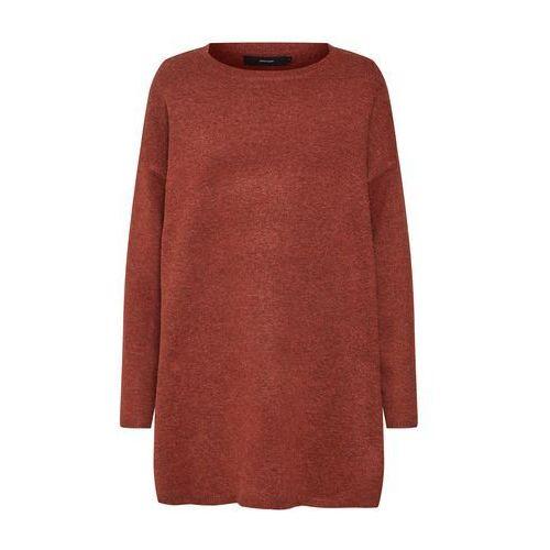VERO MODA Sweter 'BRILLIANT' czerwony