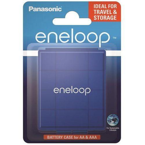 Uniwersalny pojemnik na akumulatorki R6/AA R03/AAA Panasonic eneloop niebieski (5410853060154)
