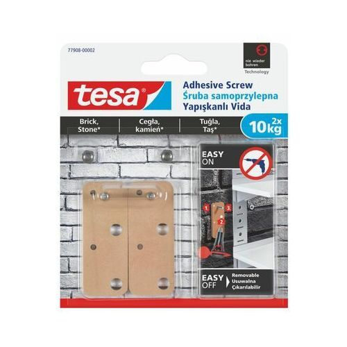 Śruba samoprzylepna smart mounting system 2 szt. marki Tesa