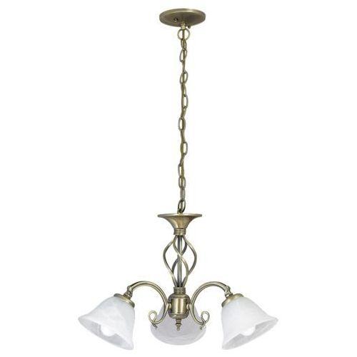 Rabalux Lampa wisząca beckworth 3x40w e14 brąz/biały 7133 (5998250371337)