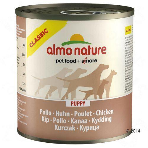 Almo nature  classic dog puppy chicken (kurczak) - puszka 6x280g