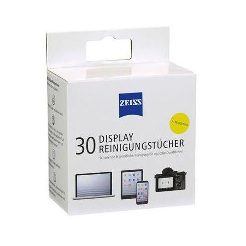 Zeiss Chusteczki do czyszczenia ekranów, tabletów i laptopów , 30 szt., białe