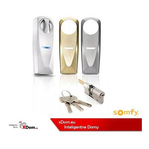 2401398 zestaw zamka sterowanego smartfonem door lock marki Somfy