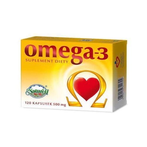 Omega-3 500mg x 120 kapsułek marki Naturell