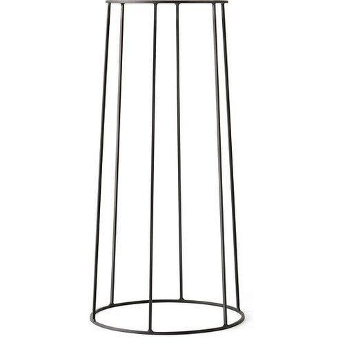 Kwietnik wire l czarny (5709262972371)
