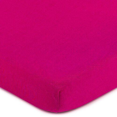 4Home Jersey prześcieradło różowy, 70 x 140 cm, 70 x 140 cm, 229004