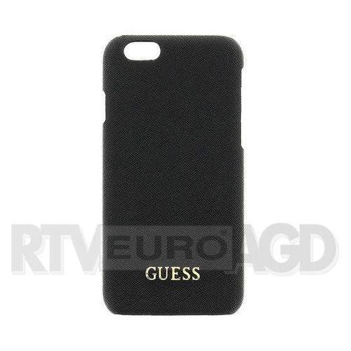 GUESS Hardcase GUHCP6LTBK iPhone 6/6S Plus czarny safiano DARMOWA DOSTAWA DO 400 SALONÓW !!, kup u jednego z partnerów