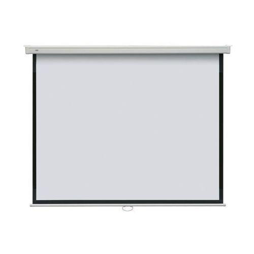 Ekran projekcyjny manualny POP 195x145 ścienny / sufitowy