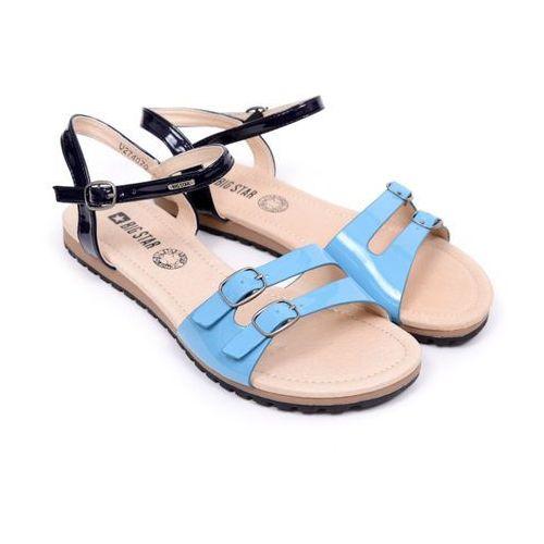 Sandały damskie  u274070 niebieski/blue 37 niebieski, Big star