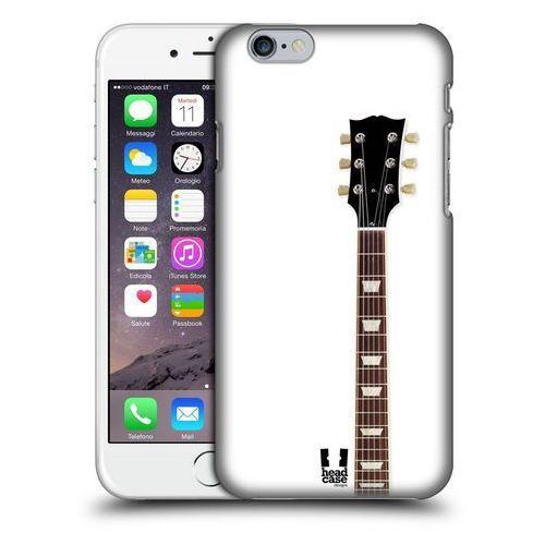 Etui plastikowe na telefon - Electric Guitar WHITE, kolor biały