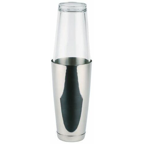 Shaker bostoński ze szklanką | inox | 0,7l marki Aps