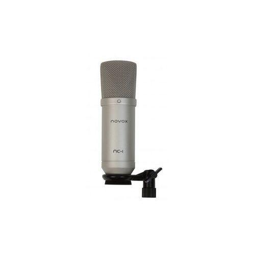 nc-1 silver mikrofon pojemnościowy usb marki Novox