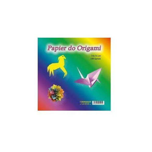 Cormoran Papier do origami 14x14 cm 100 kartek