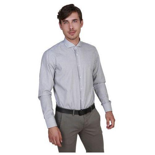 Koszula męska TRUSSARDI - 32C02SINT-86, 32C02SINT_11_GRIGIO-42