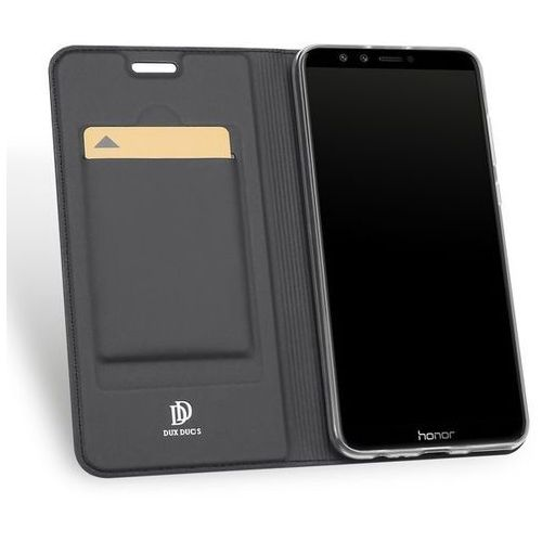 Etui Skin Pro DuxDucis do Huawei Honor 9 Lite Grafitowe, kolor szary