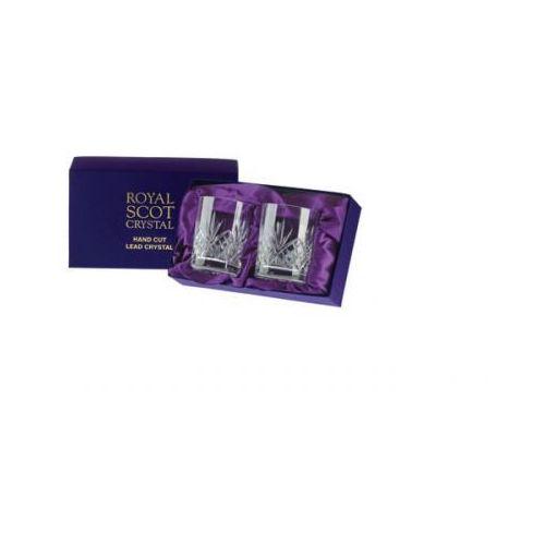 szklanki highland do whisky 210ml 2szt pres.b marki Royal scot crystal