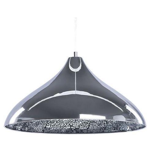 Beliani Lampa srebrna - sufitowa - żyrandol - lampa wisząca - iskar (4260580922093)