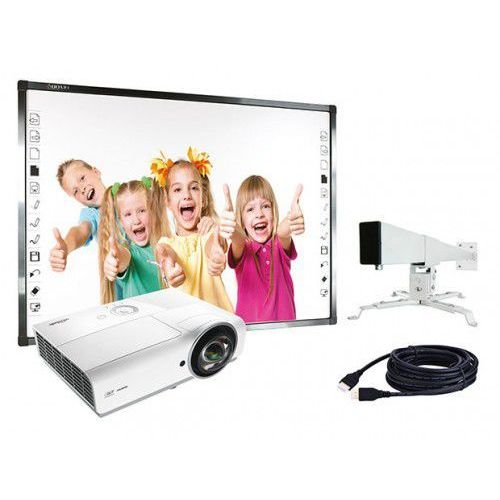 Zestaw Qomo Standard Tablica Qomo QWB379BW + projektor Vivitek DX881ST + uchwyt WallMount 1200, C528-9907D
