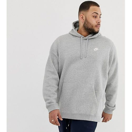 Nike plus pullover hoodie with swoosh logo in grey 804346-063 - grey