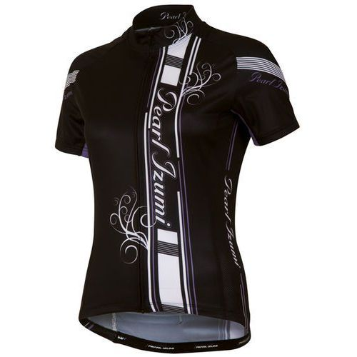 Pearl izumi elite ltd - damska koszulka rowerowa (czarny-fioletowy)
