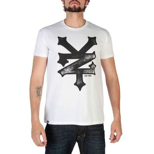 T-shirt koszulka męska ZOO YORK - RYMTS140-03, kolor biały