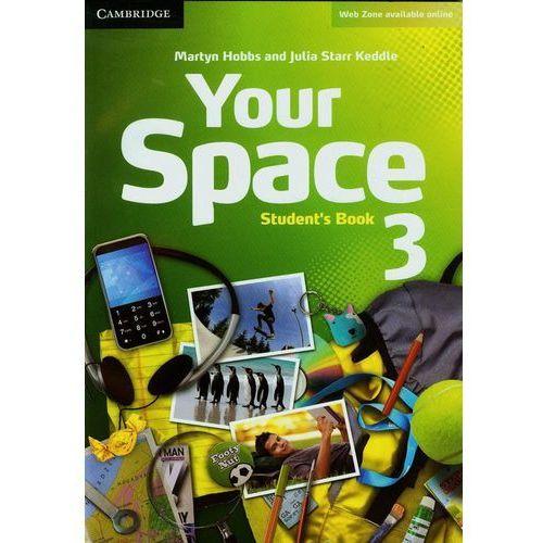 Your Space 3 Student's Book (podręcznik) (opr. miękka)