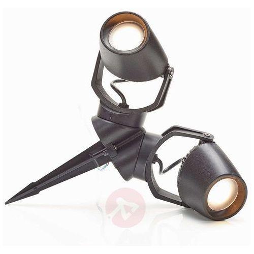 Reflektor z grotem ziemnym Minitommy czarny 2-pkt. (8031874019074)