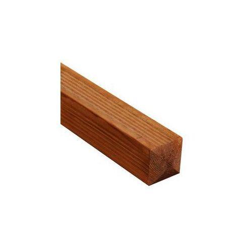 Werth-holz Kantówka drewniana 7x7x180 cm brązowa sicilia