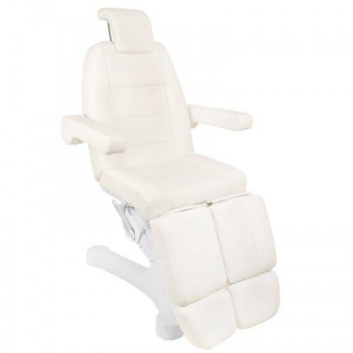Activeshop Fotel kosmetyczny elektr. a-207c pedi white/ivory (5 silników)