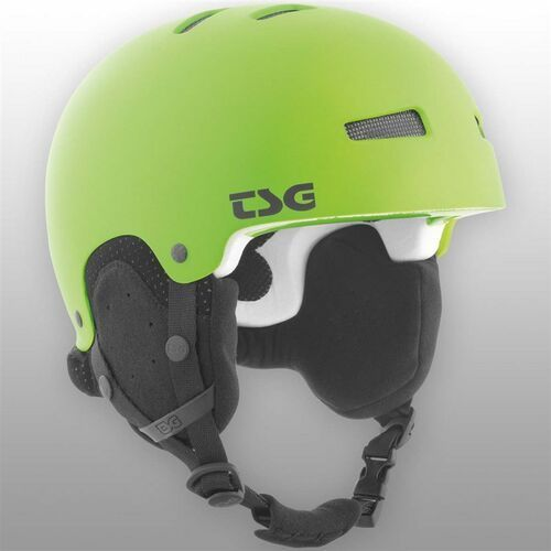 Kask - gravity youth solid color satin lime green (170) marki Tsg