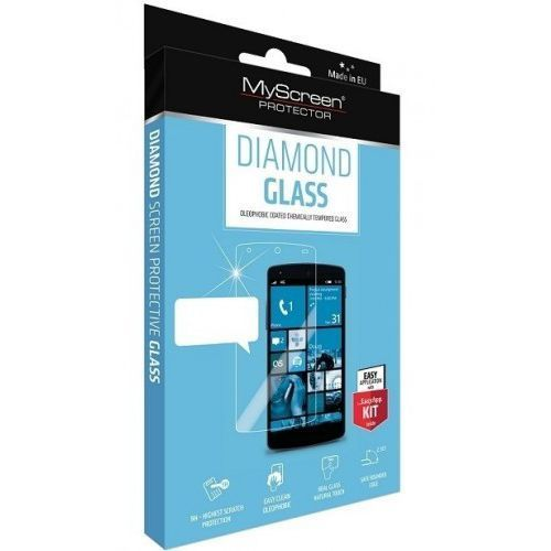 Myscreen Szkło hartowane diamond iphone 4, 4s